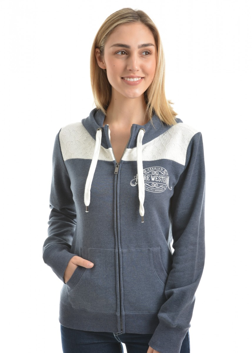 WMNS MORGAN ZIP UP HOODIE
