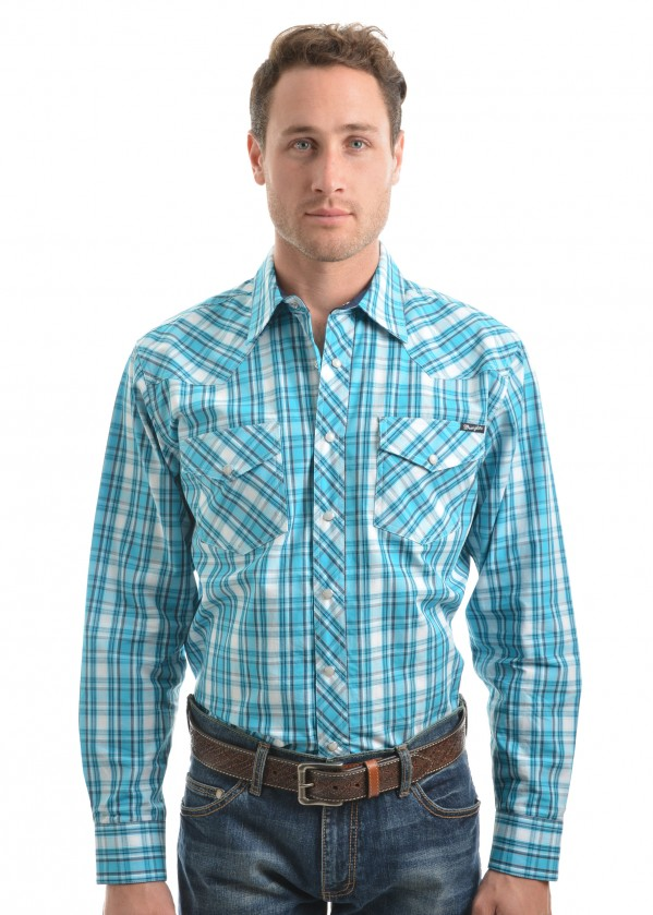 MENS BEAU CHECK L/S SHIRT