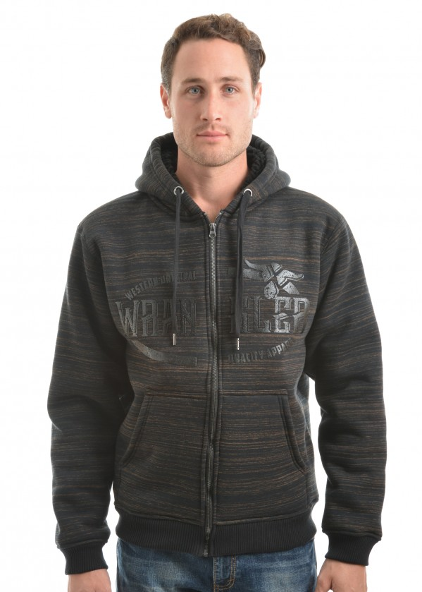 MENS HARVEY ZIP UP HOODIE