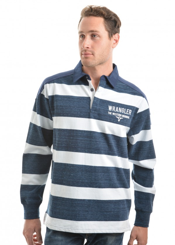 MENS MITCHELL STRIPE RUGBY