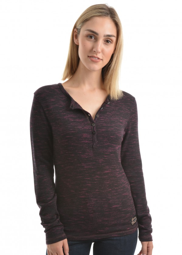 WOMENS ZAYLEE L/S TOP