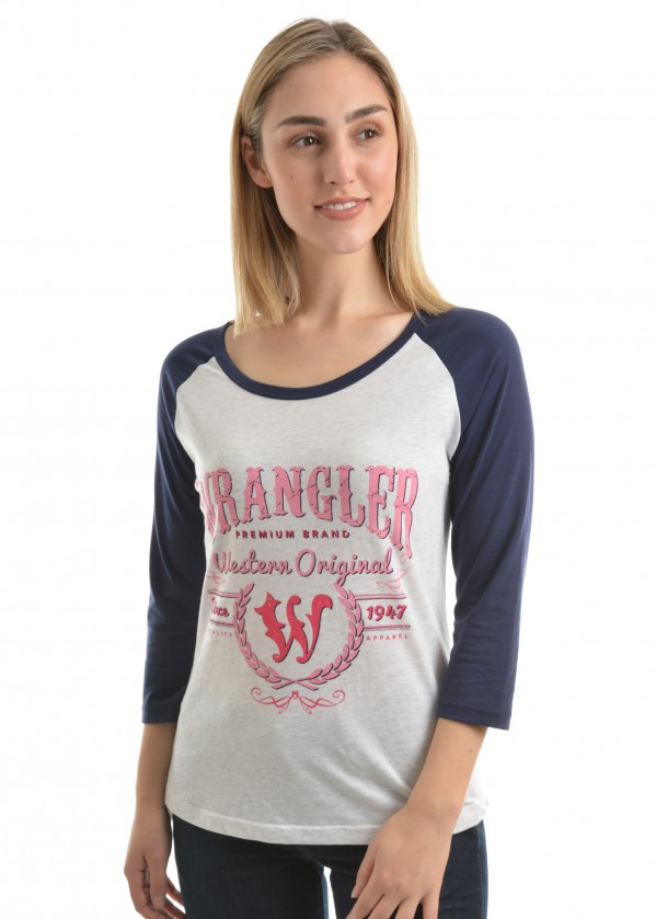 WOMENS AMELIA 3/4 SLEEVE TOP