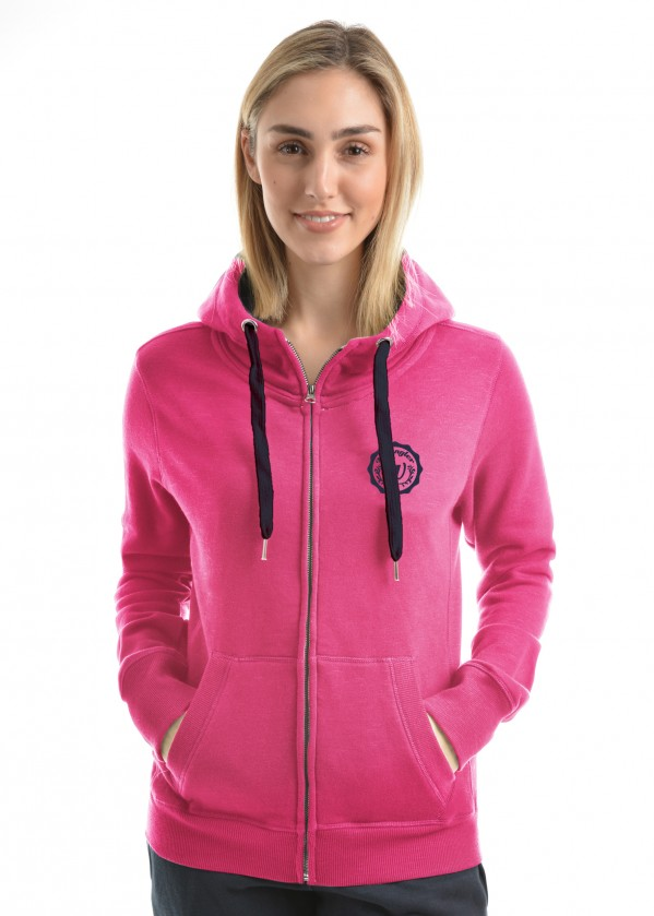 WOMENS SILVANA ZIP UP HOODIE