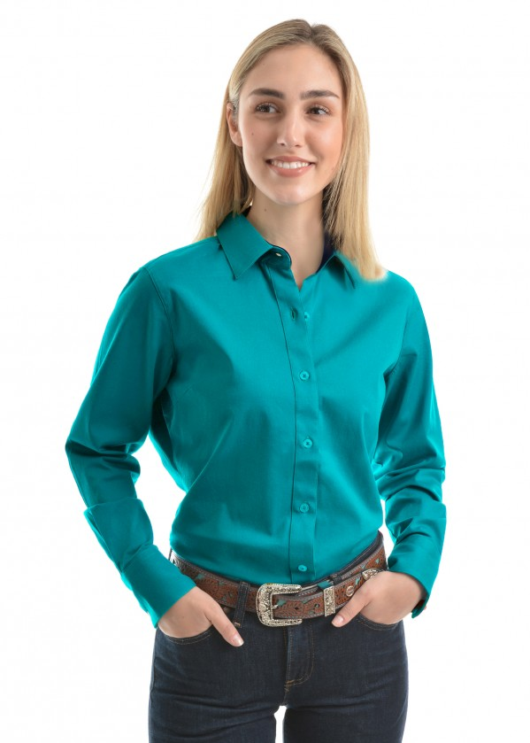 WOMENS TRACEY DRILL L/S SHIRT