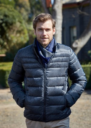 MENS OBERON LIGHT WEIGHT DOWN JACKET