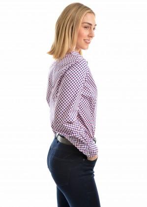 WOMENS TATIANA PRINT L/S SHIRT