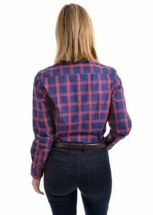 WOMENS KIMBERLEY CHECK L/S SHIRT