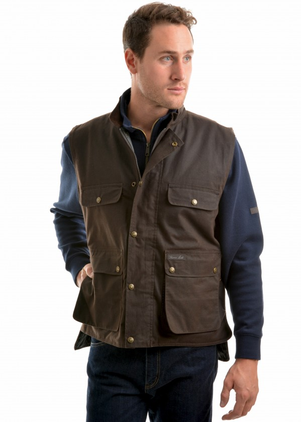 HIGH COUNTRY PROFESSIONAL OILSKIN VEST