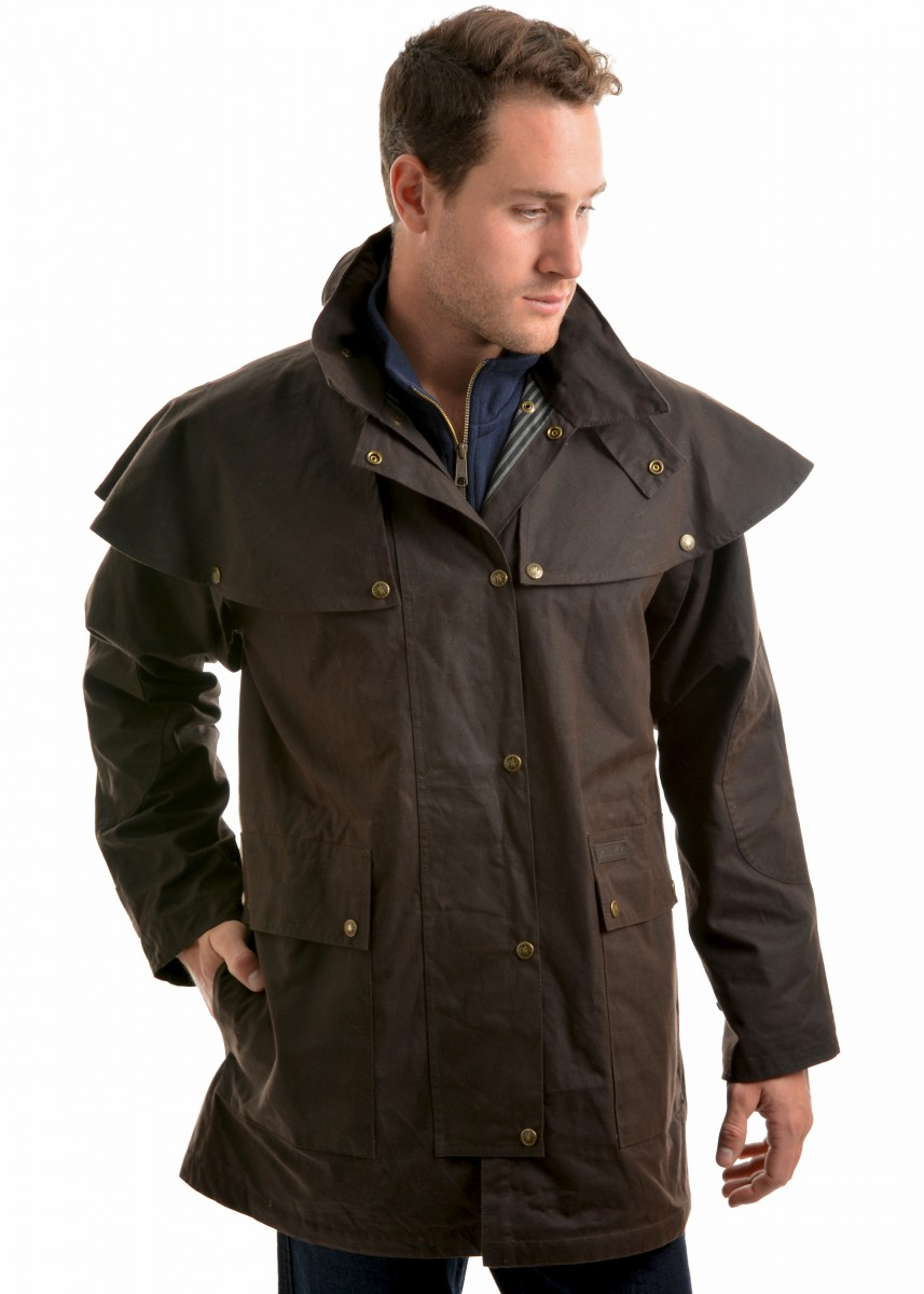 HIGH COUNTRY PROFESSIONAL OILSKIN SHORT COAT