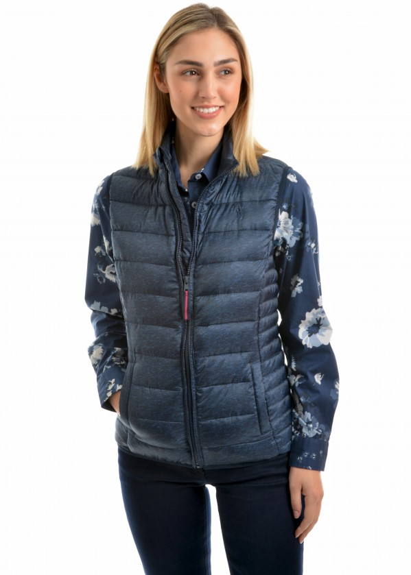 WOMENS OBERON LIGHT WEIGHT DOWN VEST