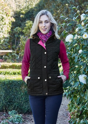 WOMENS MICHELLE QUILTED VEST