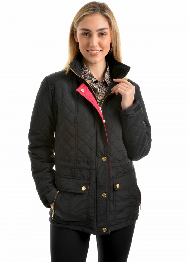 WOMENS MICHELLE QUILTED COAT