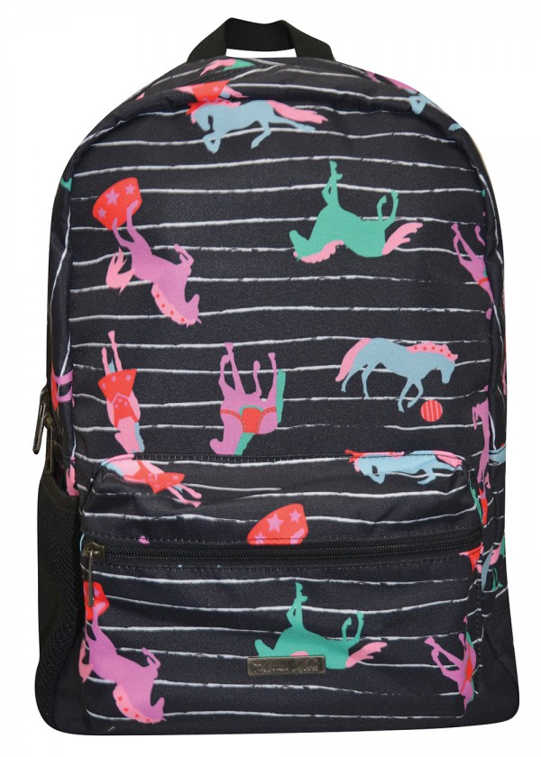 HORSE PRINT BACKPACK