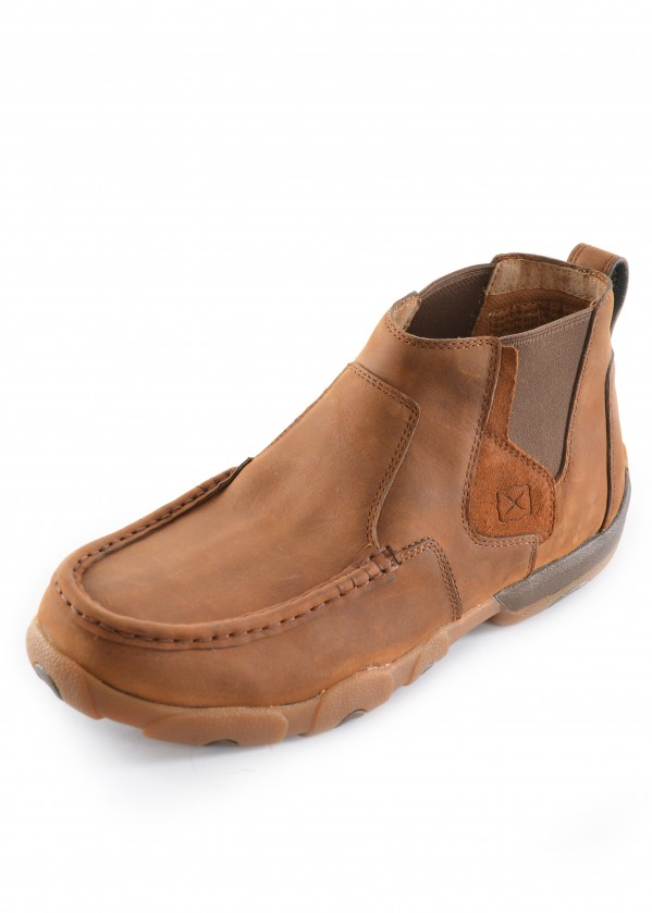 MENS CASUAL DRIVING MOCS HIGH