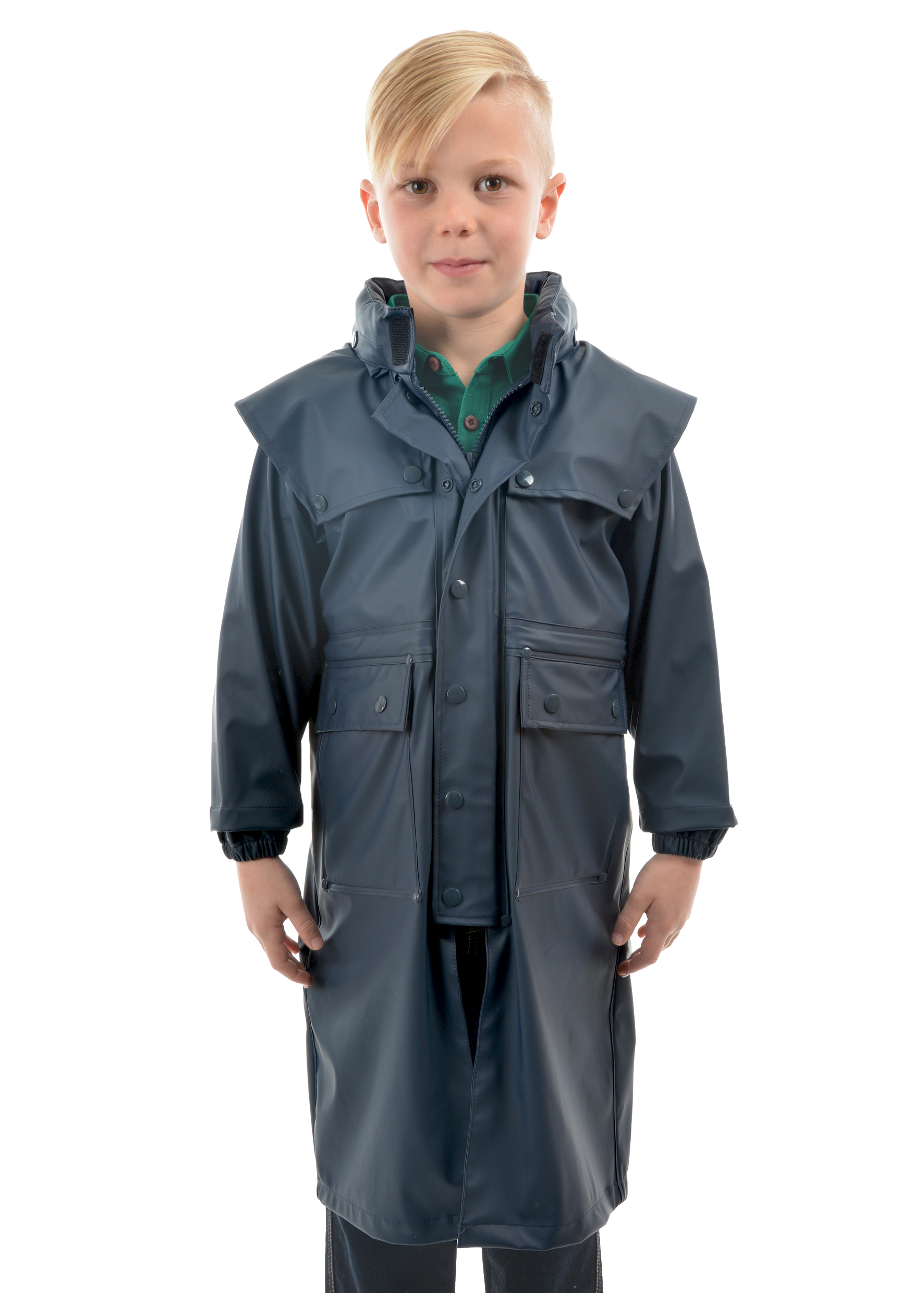 28dc06a613b Kids Pioneer Long Raincoat