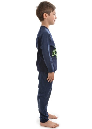 BOYS GLOW IN THE DARK BULL PJs