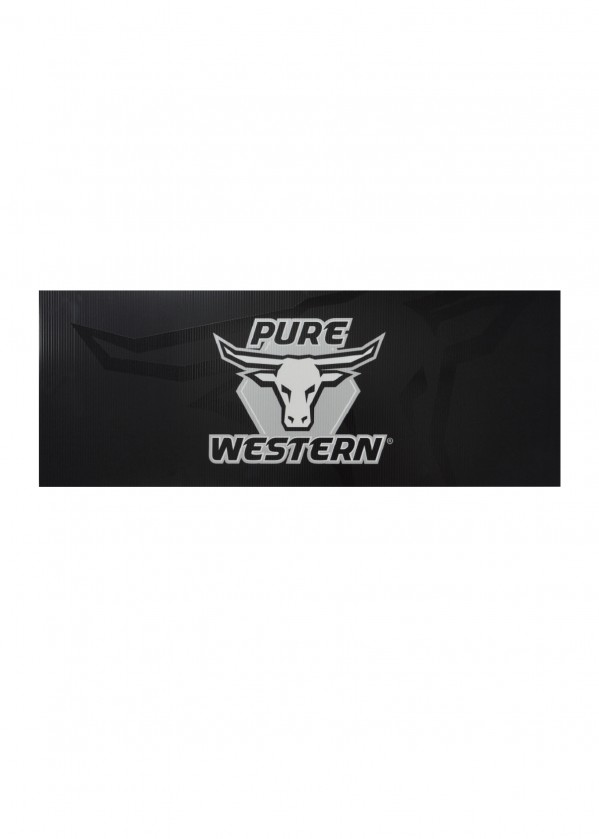 TC PURE WESTERN LOGO CORFLUTE SIGN