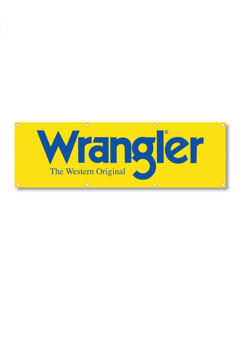 WRANGLER LOGO BANNER