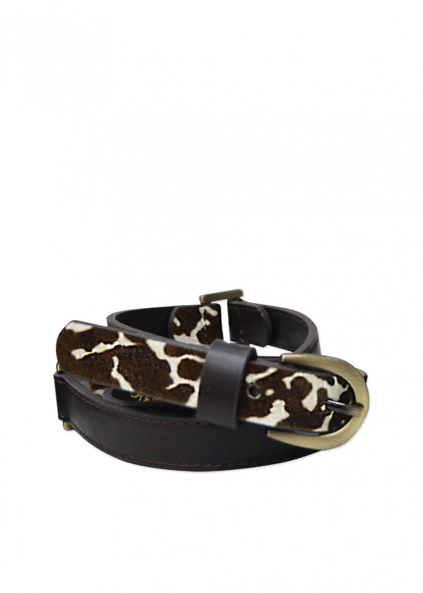 WOMENS CHELSEA TWO TONE BELT