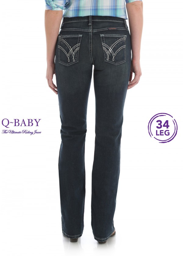 WOMENS ULTIMATE RIDING JEAN 34 LEG - Q BABY