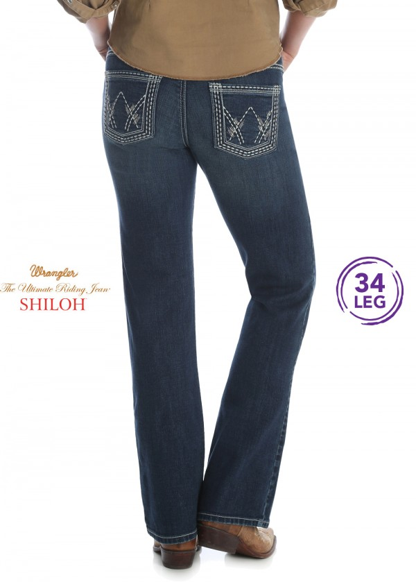 WOMENS ULTIMATE RIDING JEAN 34 LEG - SHILOH