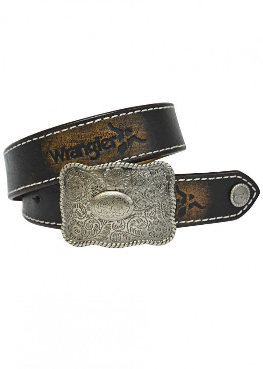 KIDS ABRASION LOGO BELT