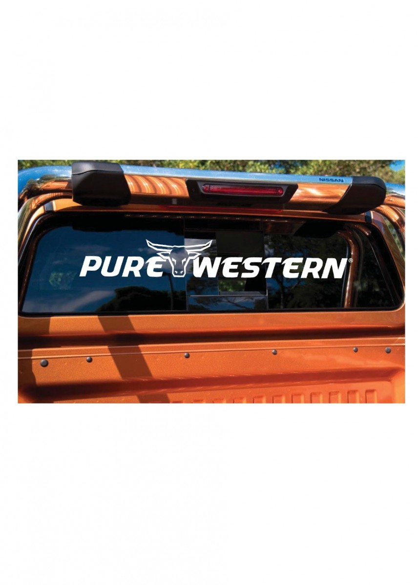 TC PURE WESTERN UTE STICKER