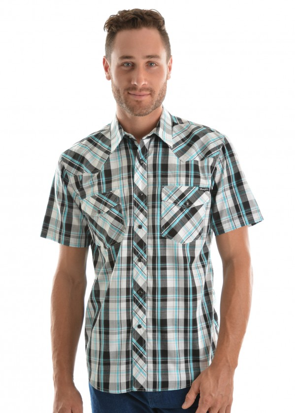 MENS ALEXANDER CHECK S/S SHIRT