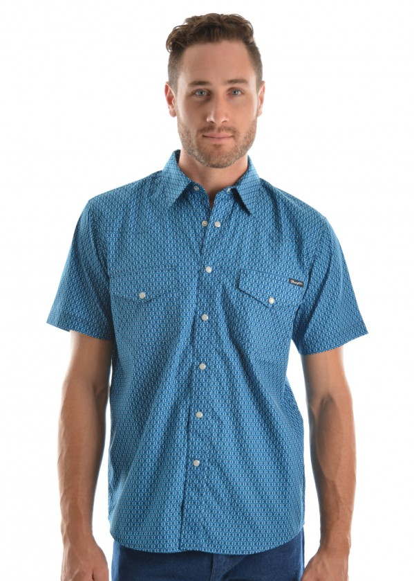 MENS JASON PRINT S/S SHIRT