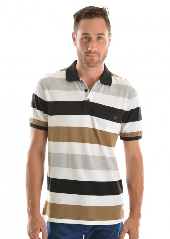 MENS DEREK S/S POLO