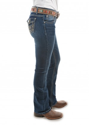 WOMENS TASHA BOOT CUT JEAN - 34 Inch Leg