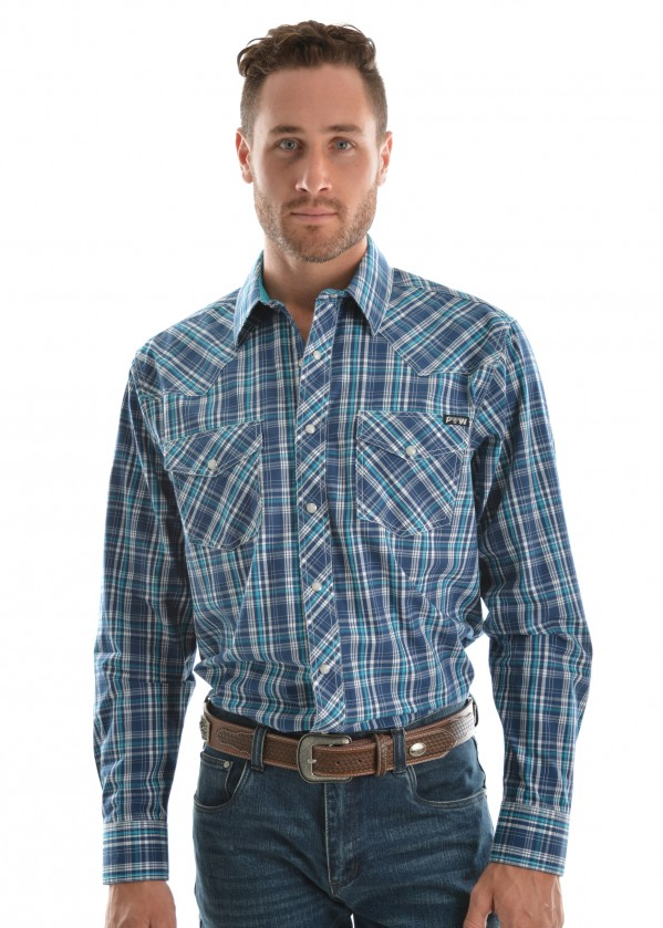 MENS BRADY CHECK L/S SHIRT