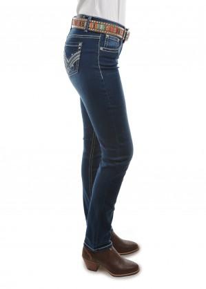 WOMENS HARLEE SKINNY LEG JEAN - 32 Inch Leg