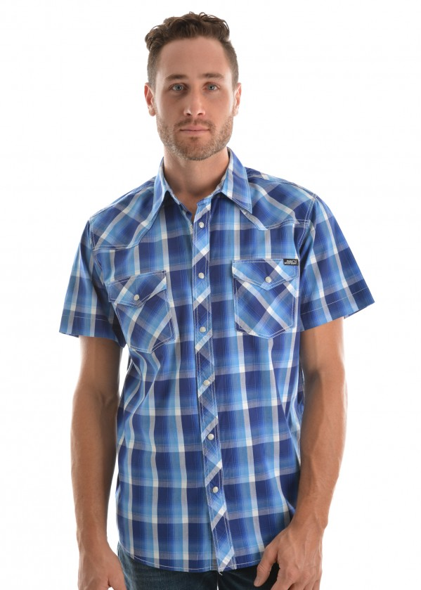 MENS GAVIN CHECK S/S SHIRT
