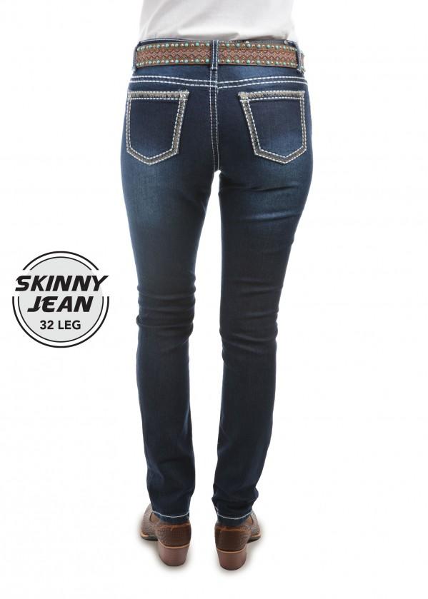 WOMENS ELIZA SKINNY JEAN - 32 LEG