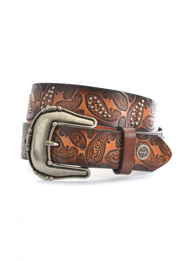 WOMENS PAISLEY BELT