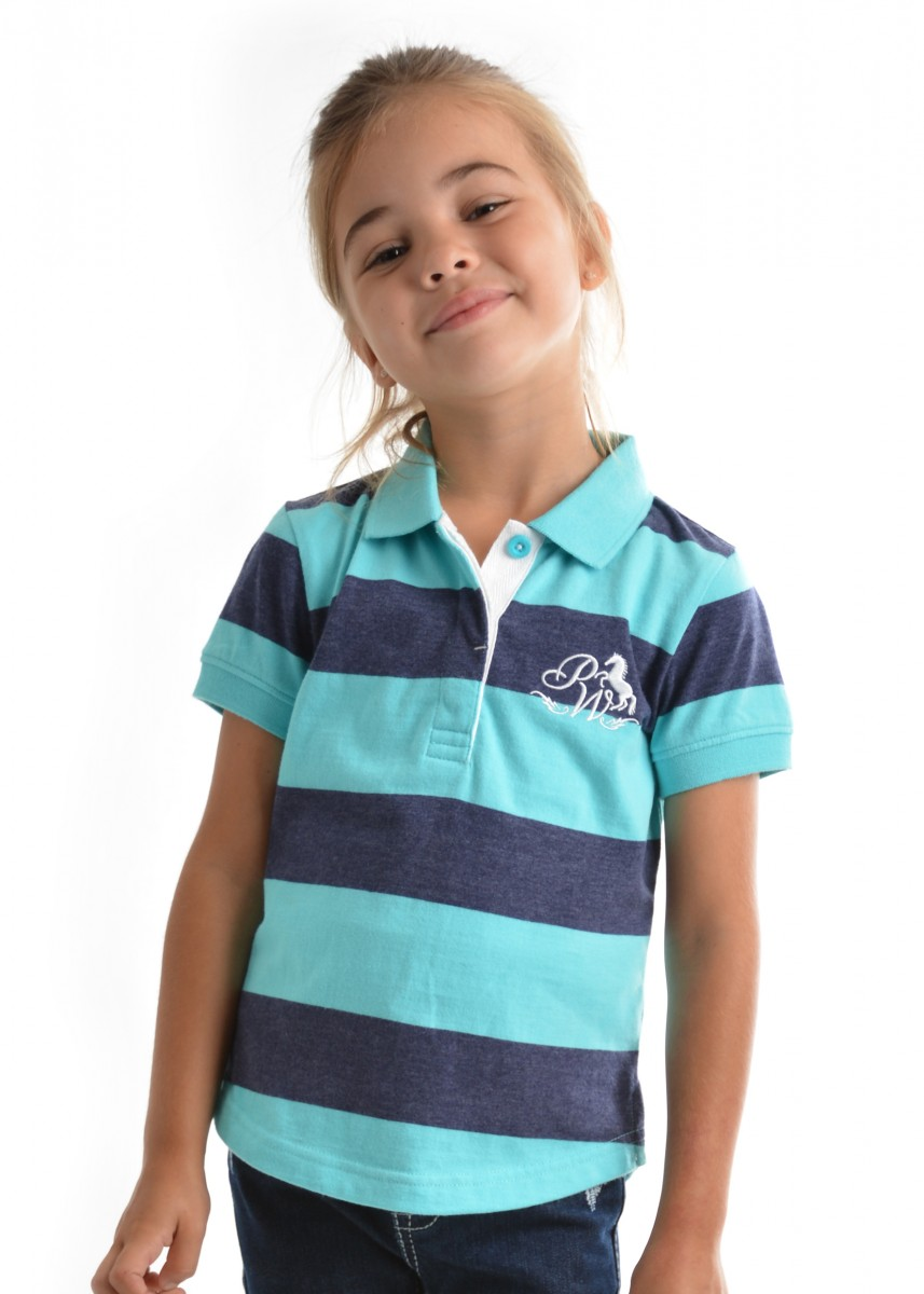 GIRLS DEMPSEY S/S POLO