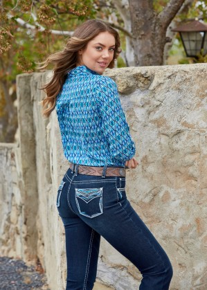 WOMENS ALICE RELAXED RIDER - 36 LEG JEAN