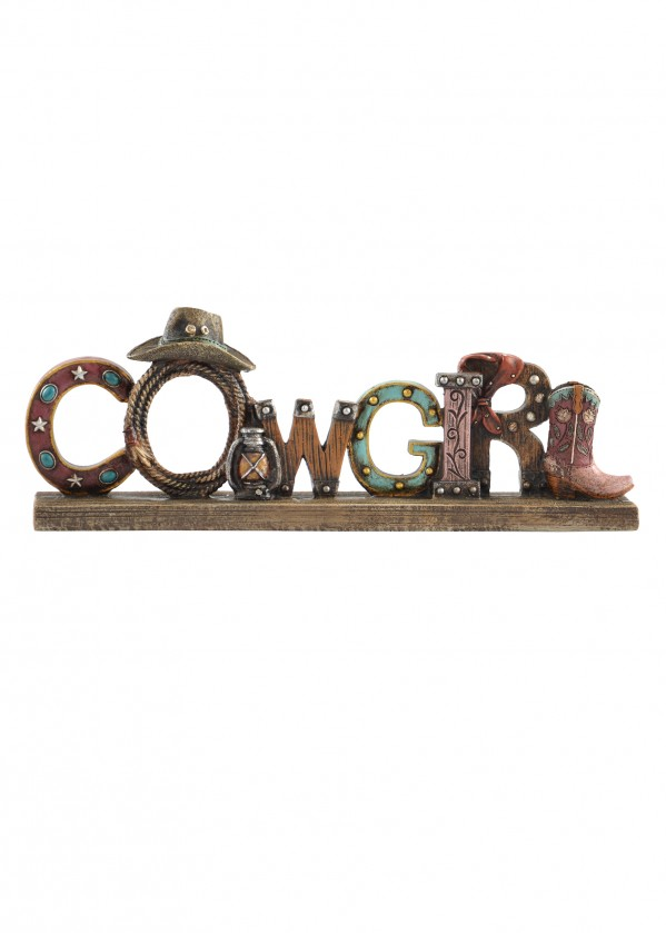 COWGIRL DECOR STAND