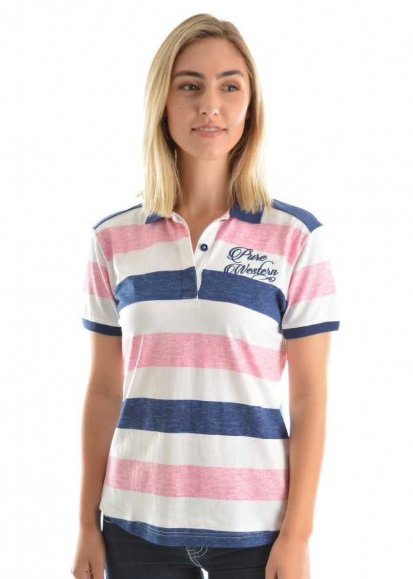 WOMENS ADLEY S/S POLO