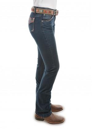 WOMENS COURTNEY BOOT CUT JEAN - 34 LEG