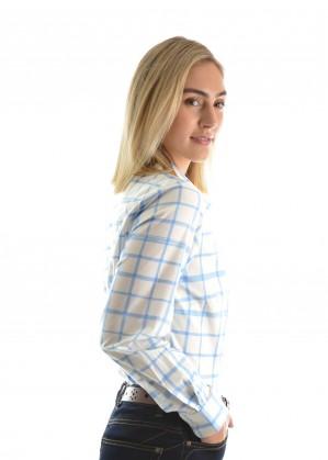 WOMENS PHOEBE PRINT L/S SHIRT