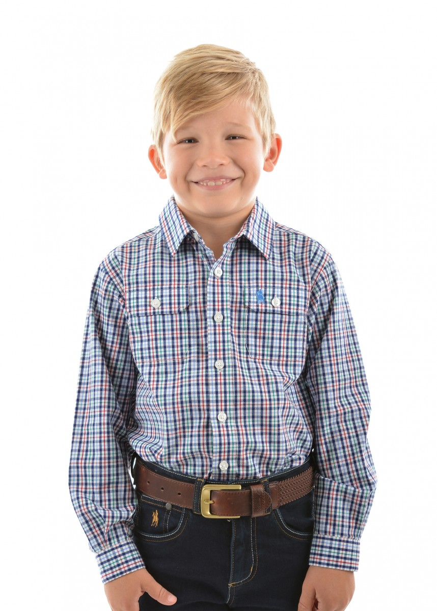 BOYS SCOTT 2-PKT L/S SHIRT