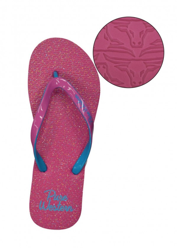 GLITTER - WOMENS THONGS