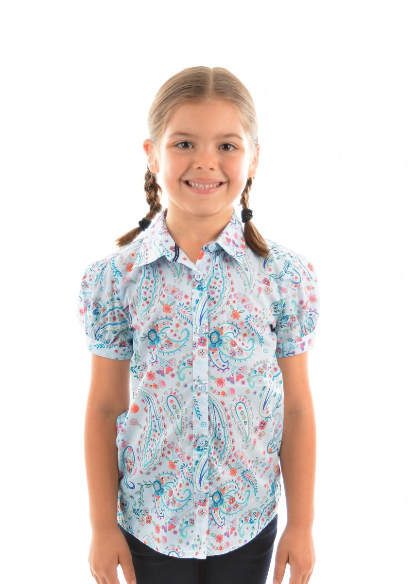GIRLS ANGELA S/S SHIRT