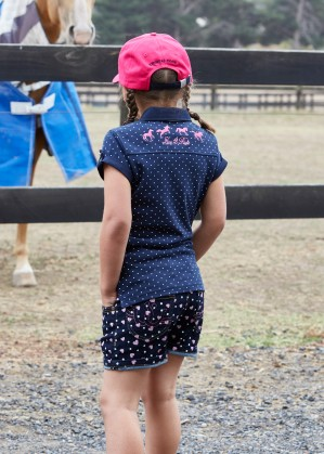 GIRLS SPOT S/S POLO