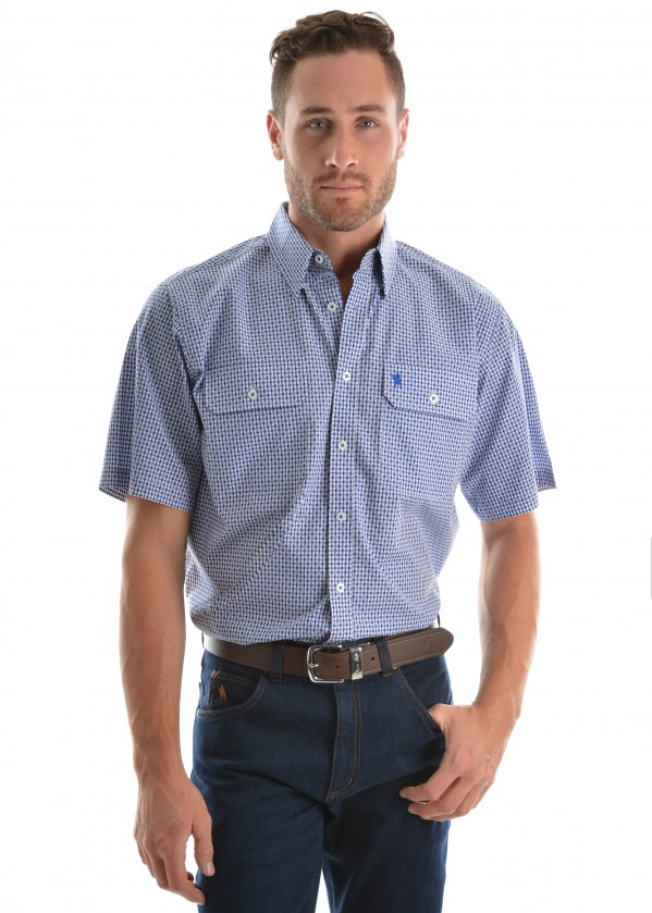 MENS KENNEDY 2-PKT S/S SHIRT