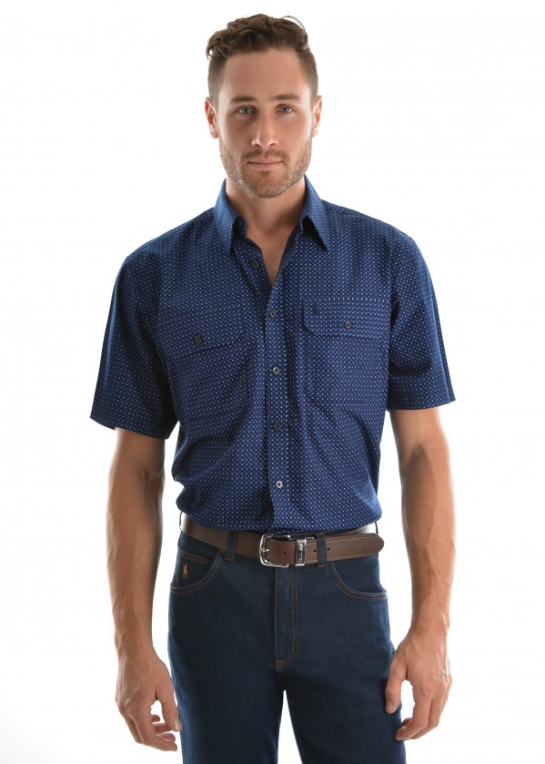 MENS OWEN 2-PKT S/S SHIRT
