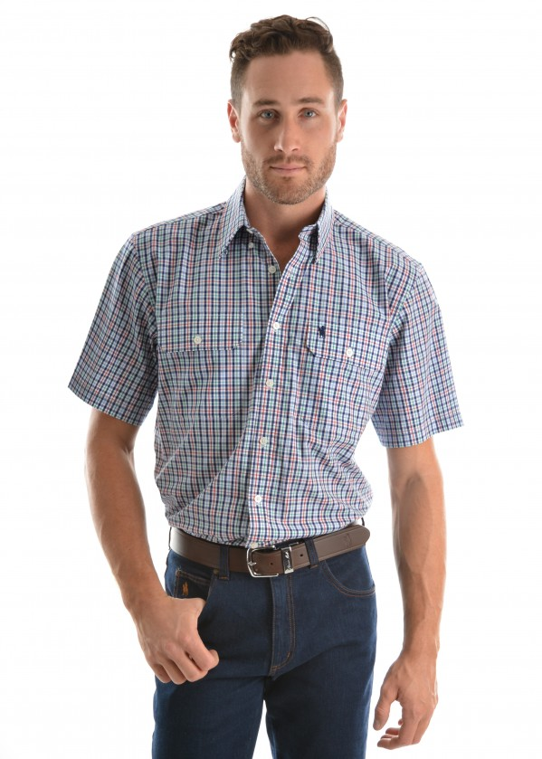MENS SCOTT 2-PKT S/S SHIRT