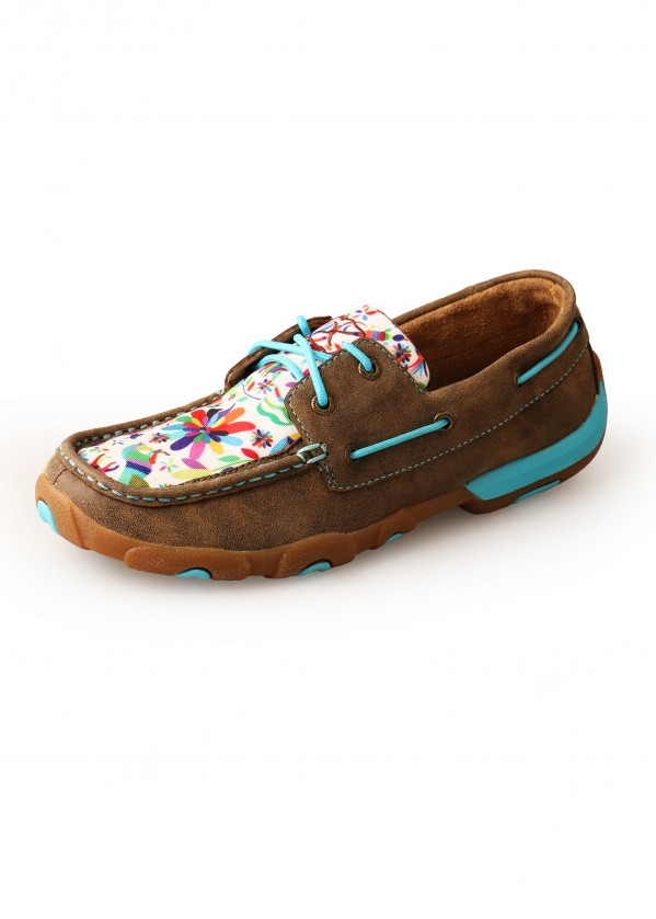 WOMENS CARNIVAL MOCS LOW LACE UP